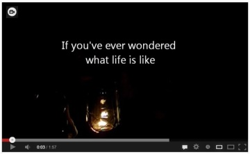 Life without Electricity Video